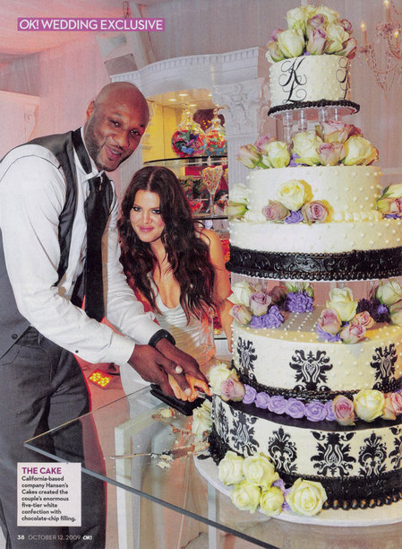 khloe kardashian wedding cake wedding cake ode to khloe and lamar odom multi cultural 16638