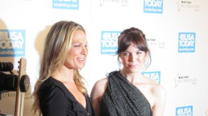 Molly Sims and Mandy Moore