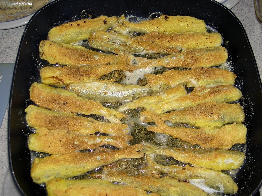 Fried Smelts: a popular dish for the Feast of the Seven Fishes