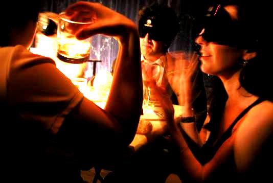 Blind Restaurant London Dark