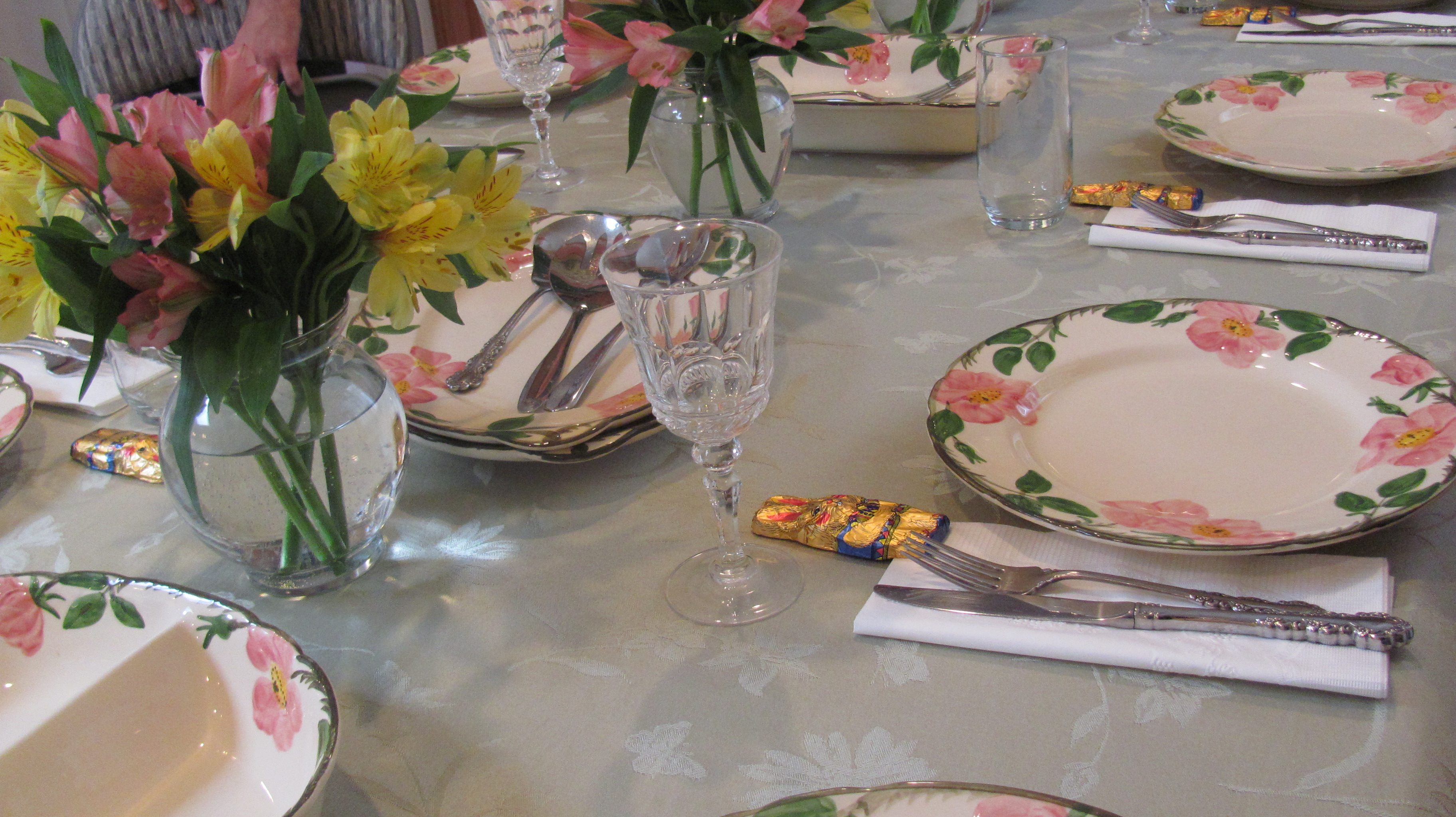 Italian Table Setting Easter Table Setting Multi Cultural Cooking Network