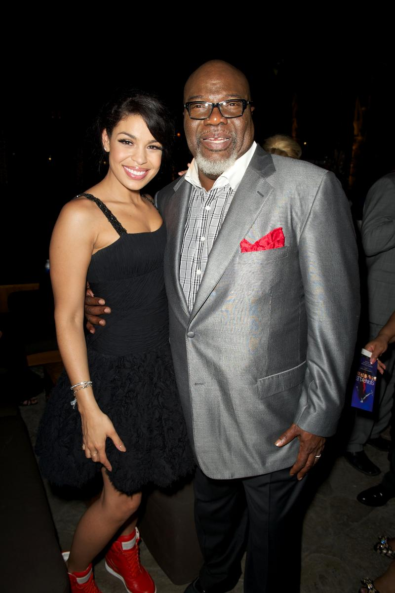 Film Producer TD Jakes and Singer/Actress Jordan Sparks