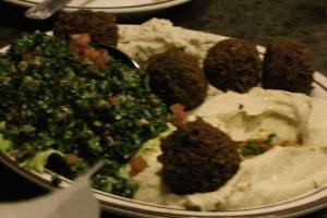 Lebanese platter retouch