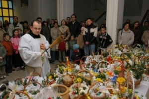 Blessing of Easter Food in Poland