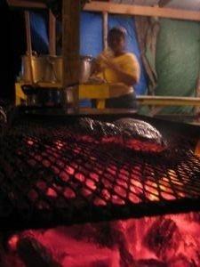 Belizean BBQ Fish