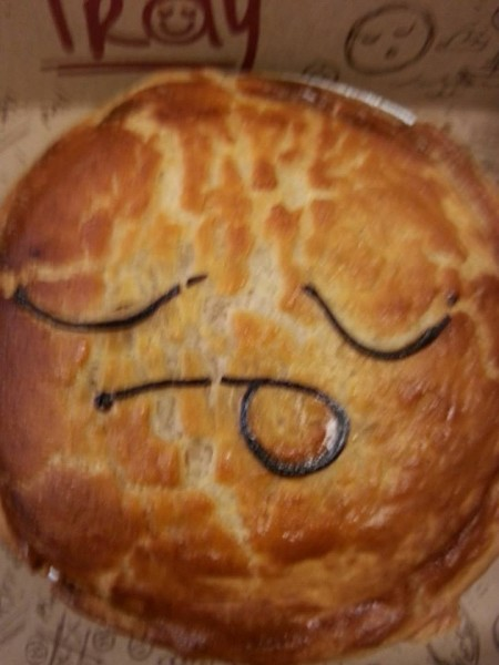 Pie face smaller