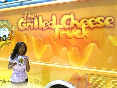 Erika and grilled cheese truck