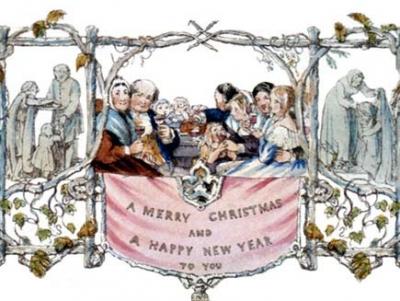 Christmas Card Histor