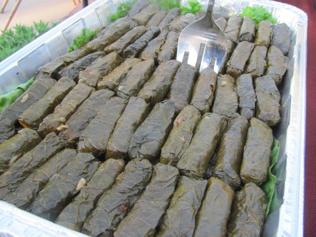 Grape leaves from Olympia Kabob house