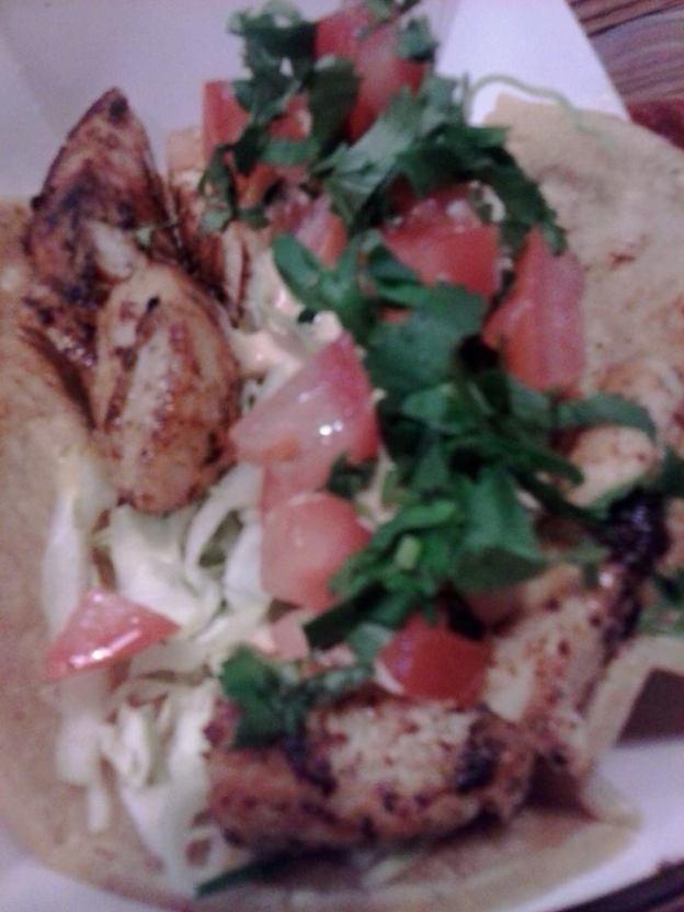 Fish taco Cu at Fish Dish