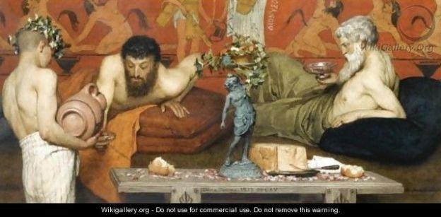 Alma-Tadema_Greek-Wine