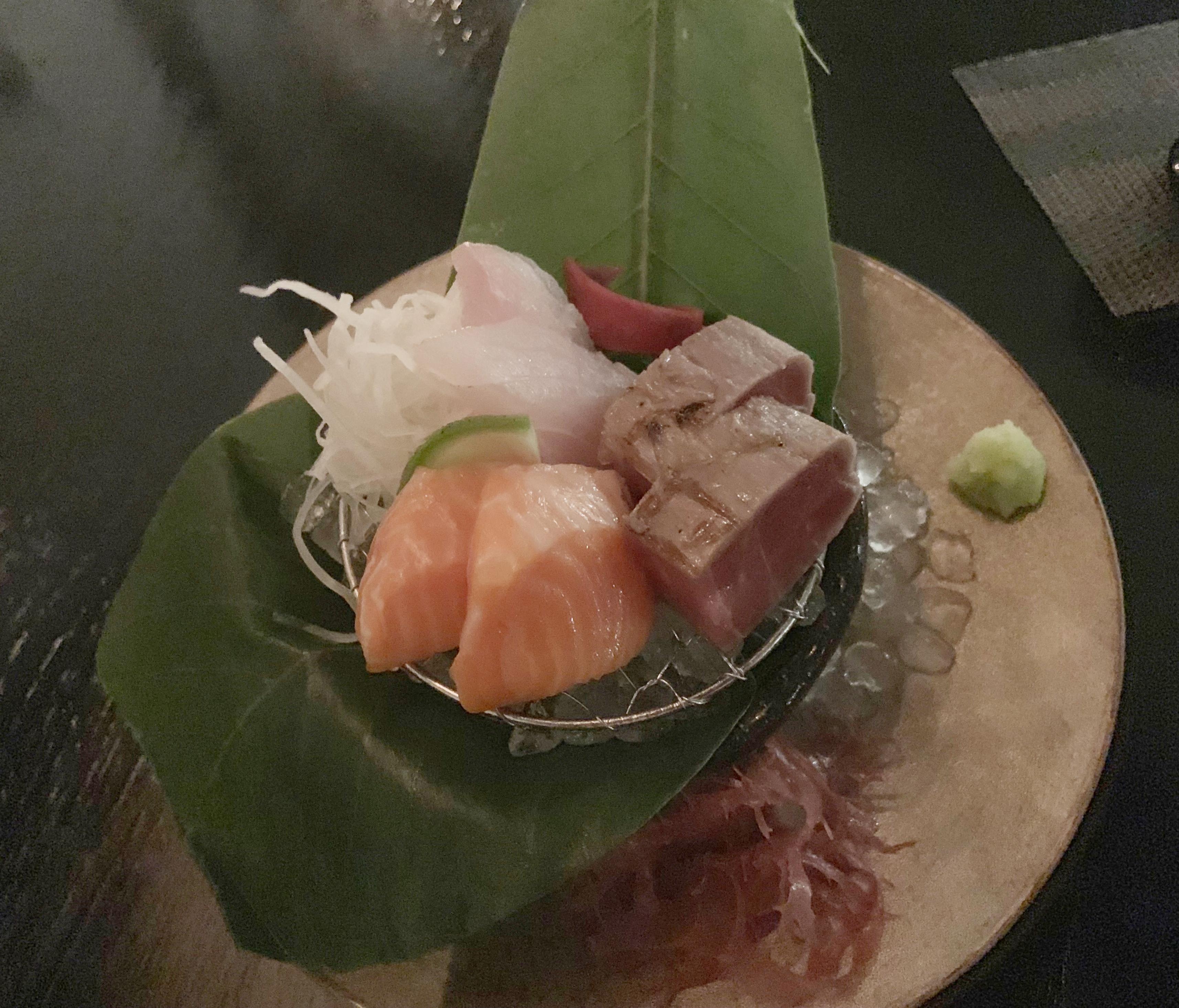 sashimi retouch